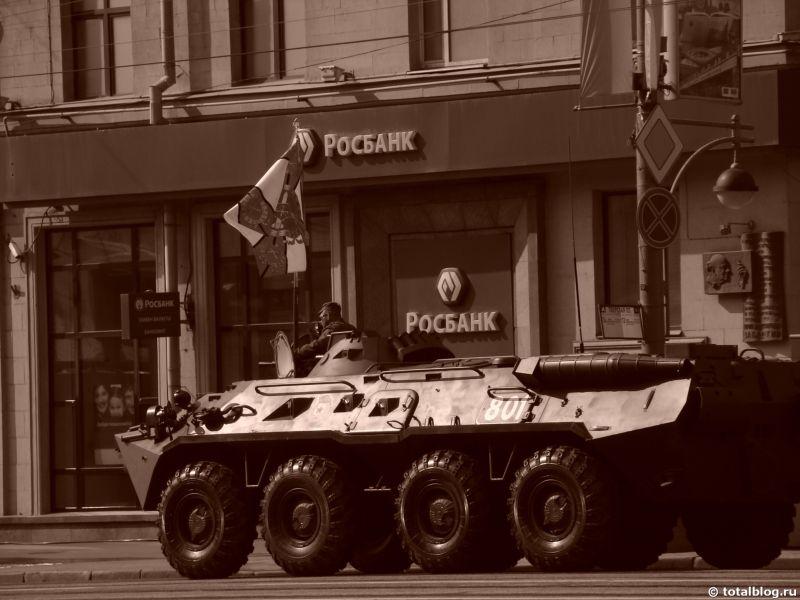 Генеральная репетиция парада Победы 2011