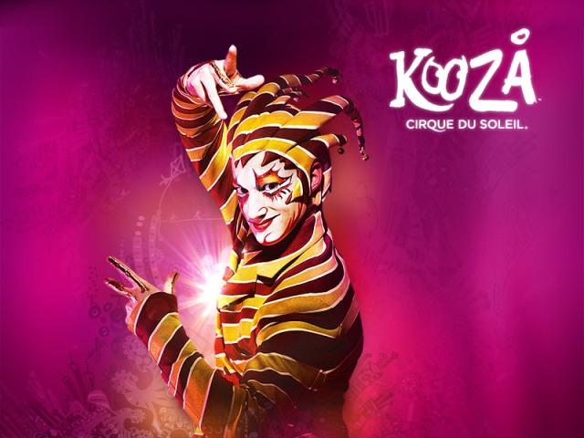 Kooza Cirque du Soleil концерт