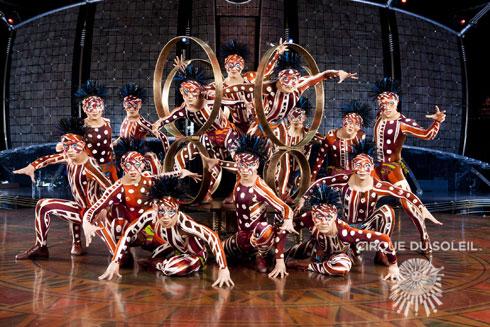 Dralion Cirque du Soleil концерт